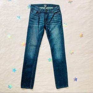 J. Crew Straight Leg Dark Wash Jeans